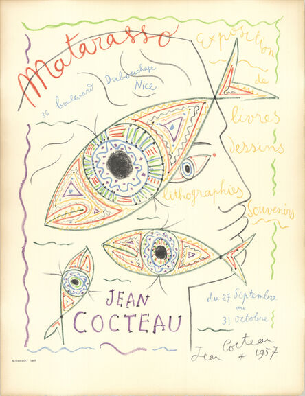 Jean Cocteau, 'Matarasso', 1957