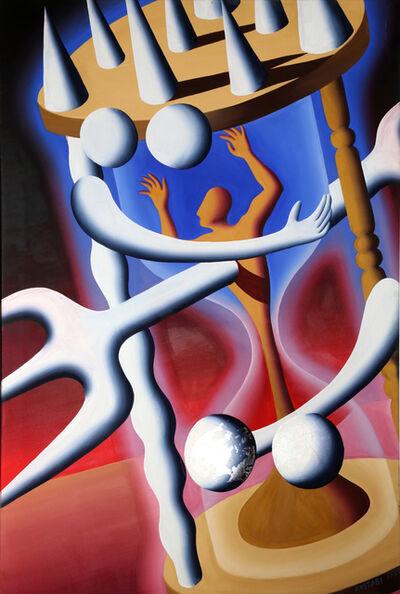 Mark Kostabi, 'Hour Dimension', 1989