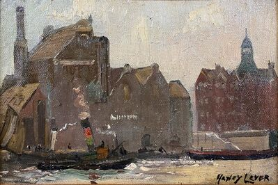 Hayley Lever, 'Thames River, London', ca. 1907