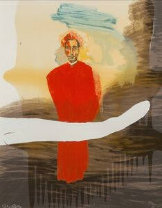 Julian Schnabel, 'Victor Hugo Demo', 1998