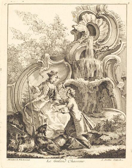 Antoine Aveline, 'Le Galand Chasseur', 1736