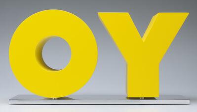 Deborah Kass, 'OY/YO (Yellow)', 2011