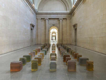 Rachel Whiteread, 'Untitled (One Hundred Spaces) ', 1995