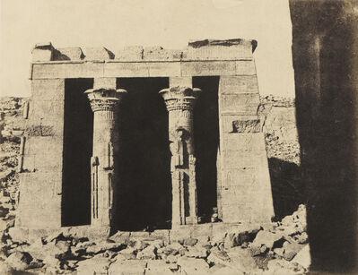 John Beasley Greene, 'Dendour: Temple 2, Egypt', 1854
