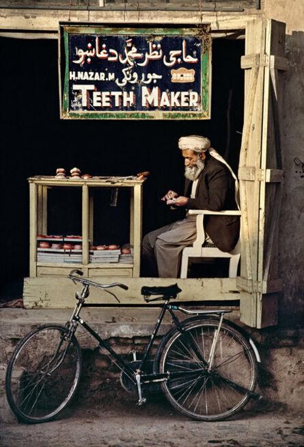 Steve McCurry, 'Teeth Maker, Afghanistan', 1998