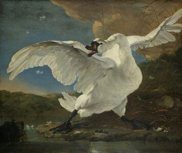 Jan Asselijn, 'The Threatened Swan', ca. 1650