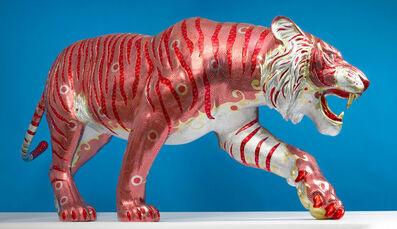 David Mach, 'Easy Tiger', 2019