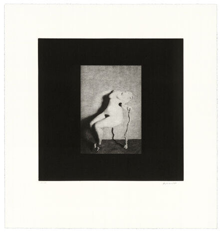 David Lynch, 'Distorted Nude Photogravure #3', 2021