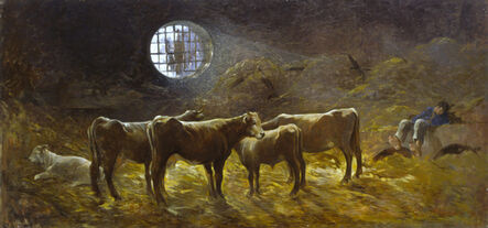 Giovanni Marchini, 'La stalla', 1932