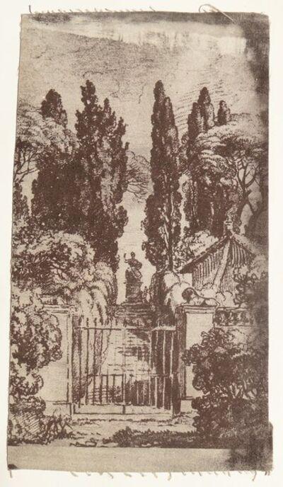 Maurice Tabard, 'Untitled Vintage Print on fabric', unknow