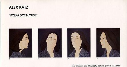 Alex Katz, 'Ada Four Times: set of four prints', 1978-1979
