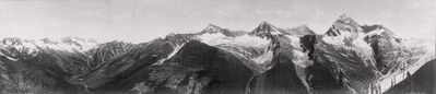 William Henry Jackson, 'The Heart of the Selkirks, British Columbia', ca. 1902