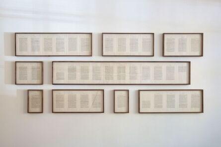 Francisco Ugarte, 'Paisajes literarios (El extranjero, Albert Camus)', 2015