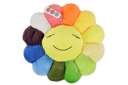 Takashi Murakami, 'Flower Cushion Rainbow'