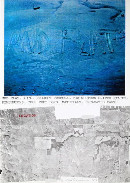 Dennis Oppenheim, 'Mud Flat', 1977