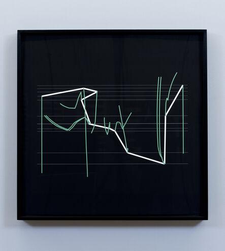 Manfred Mohr, 'P2202_18311', 2015