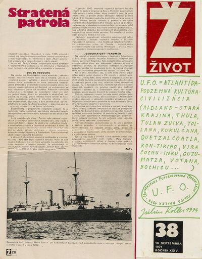 Július Koller, 'Untitled (Magazine)', 1974