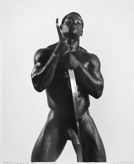 George Dureau, 'Battiste with Bow #1', 1989
