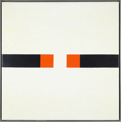 Frederick Hammersley, 'Less on Lesson No. 14', 1975