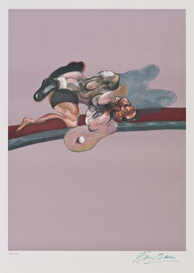 Francis Bacon, 'Triptych 1971 (Left panel)', 1975