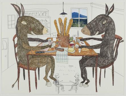 Shintaro Miyake, 'Dinner Table of Donkey', 2013