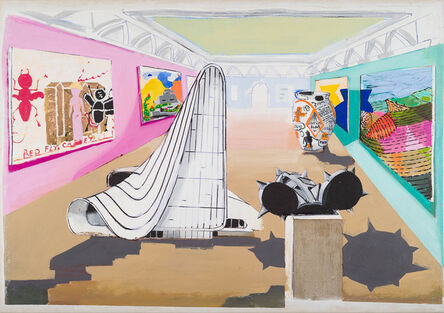 Stephen Farthing, 'The Museum of Vernal Entertainment: London, 2017 The Royal Academy of Arts, London', 2017
