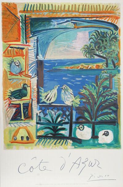 Pablo Picasso, 'Cote d'Azur', 1966