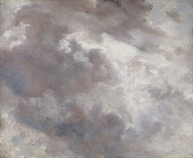 John Constable, 'Dark Cloud Study', 1821