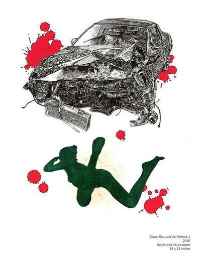 IILK (Ichiro Irie & Lucas Kazansky), 'Blood, Sex and Car Wrecks 1'