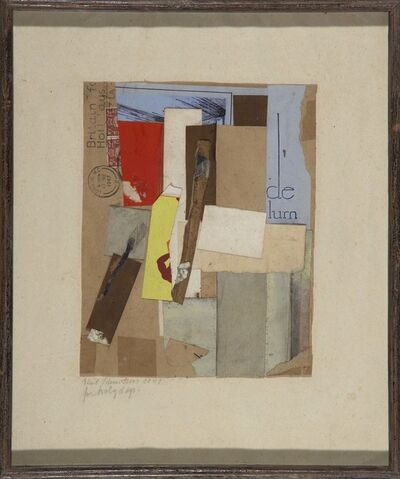 Kurt Schwitters, 'For Holy Days', 1947