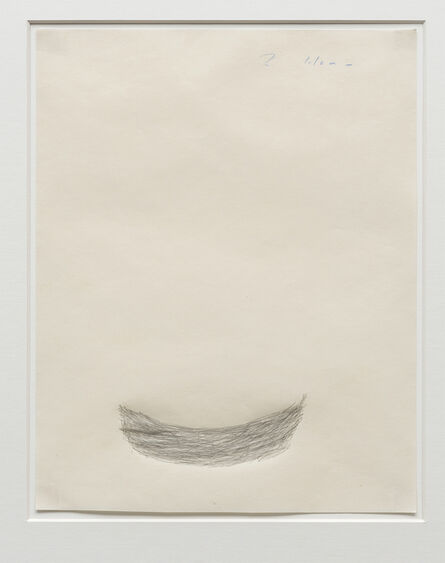 Roni Horn, 'Untitled (related to Bowl of Mass)', 1982