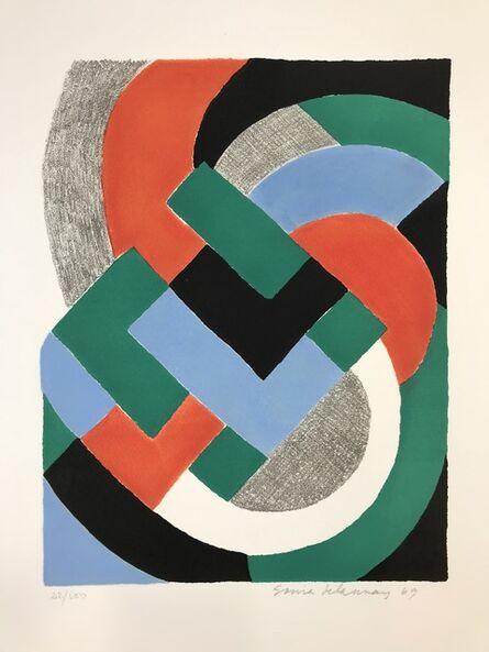 Sonia Delaunay, 'Composition', 1969