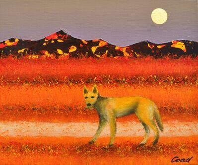 Peter Coad, 'Dingo and Moon', 2013-2014