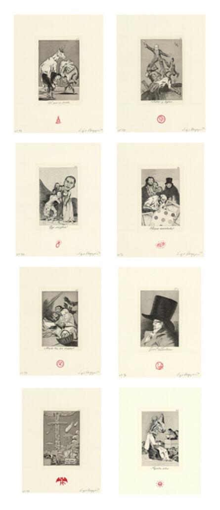 Enrique Chagoya, 'Recurrent Goya (suite of 8)', 2012