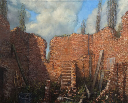 Chester Arnold, 'The Studio Remains', 2015