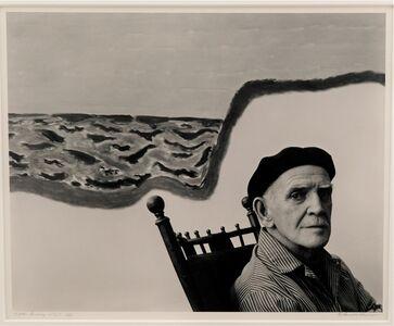 Arnold Newman, 'Milton Avery ', 1954