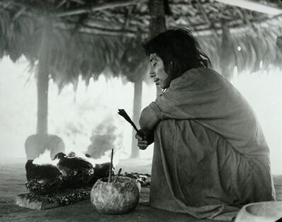Gertrude Duby, 'Lacandon Cooking, Chiapas', ca. 1954