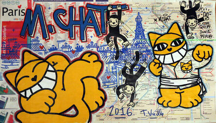 M.Chat, 'Carte 2', 2016