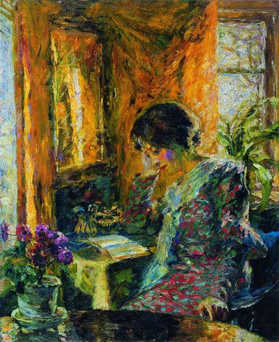 Emil Nolde, 'Frühling im Zimmer', 1904