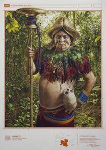 Fernando Gutierrez Huanchaco, 'Image of Civilization (Guardian)', 2015