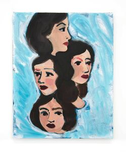 Becky Kolsrud, 'Untitled Study (Heads)', 2017