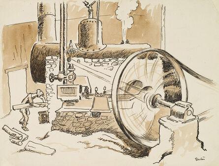 Thomas Hart Benton, 'Steam Generator', ca. 1940s