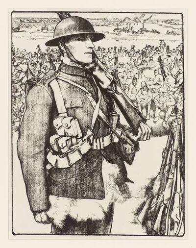 Eric Kennington, 'Making Soldiers: The Great War ', ca. 1917