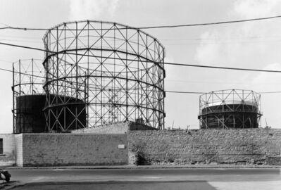 Gabriele Basilico, 'Napoli, Gasometri', 1982