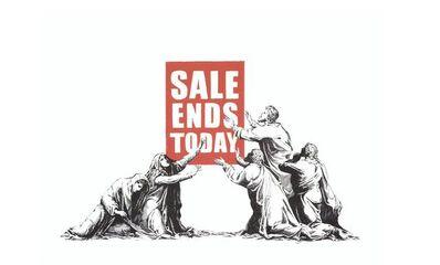 Banksy, 'Sale Ends - Signed', 2017