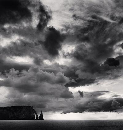 Michael Kenna, 'Falaise d'Aval et Nuages, Normandy, France', 2000
