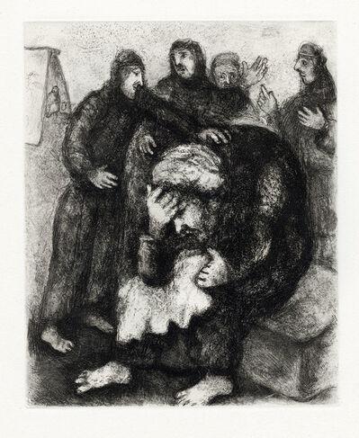 Marc Chagall, 'Jacob Pleurant Joseph (Jacob Weeps for Joseph)', 1956