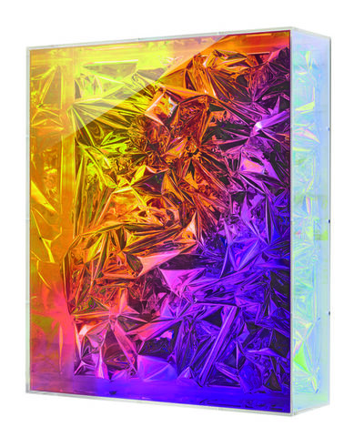 Anselm Reyle, 'Untitled (iridescent box)', 2013