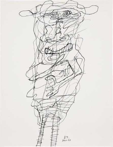 Jean Dubuffet, 'Personnage (no. 27)', 22068