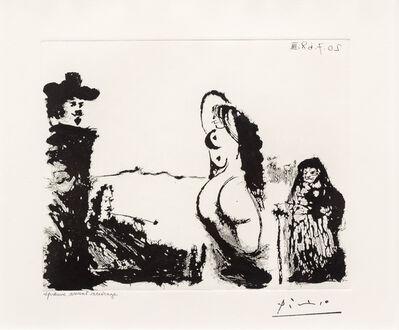 Pablo Picasso, 'Un Dejeuner sur l'Herbe Rembranesque..., from the 347 Series', 1968